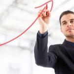 Beleggen in CFD's, short gaan bij een dalende beurskoers