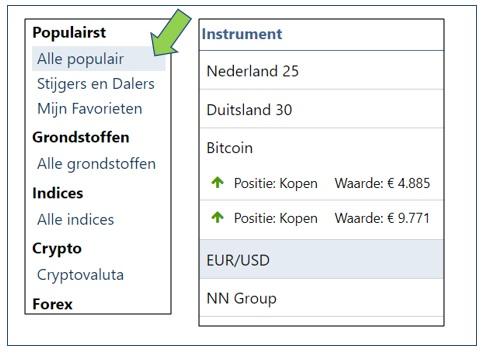 beleggen in wisselkoersen 11-08-2017 instrumenten
