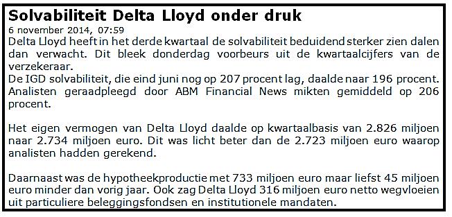 Snel aandelen kopen Delta Loyd 1
