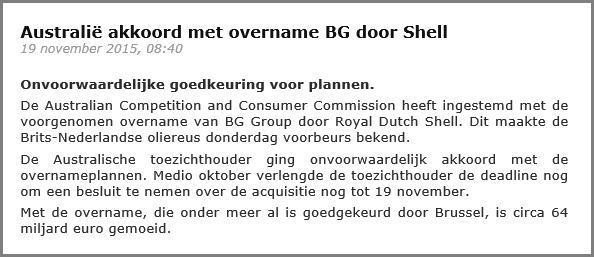 Hoe beleggen in Royal Dutch Shell Nieuwsbericht